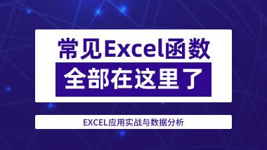 EXCEL应用实战与数据分析